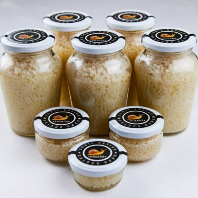 Snail caviar